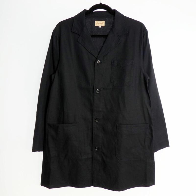 【中古】DRESS HIPPY|ドレスヒッピー ATELIER JACKET ロングコート 2020S/S ネイビー サイズ:M【f096】