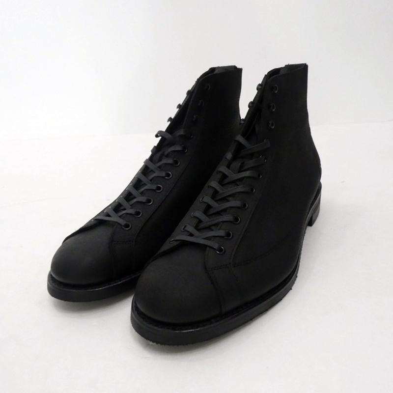 【中古】TAKE FIVE MILE|テイクファイブマイル MONKEY BOOTS レザーシューズ T5M-004 ブラック サイズ:10E(28cm)【f127】