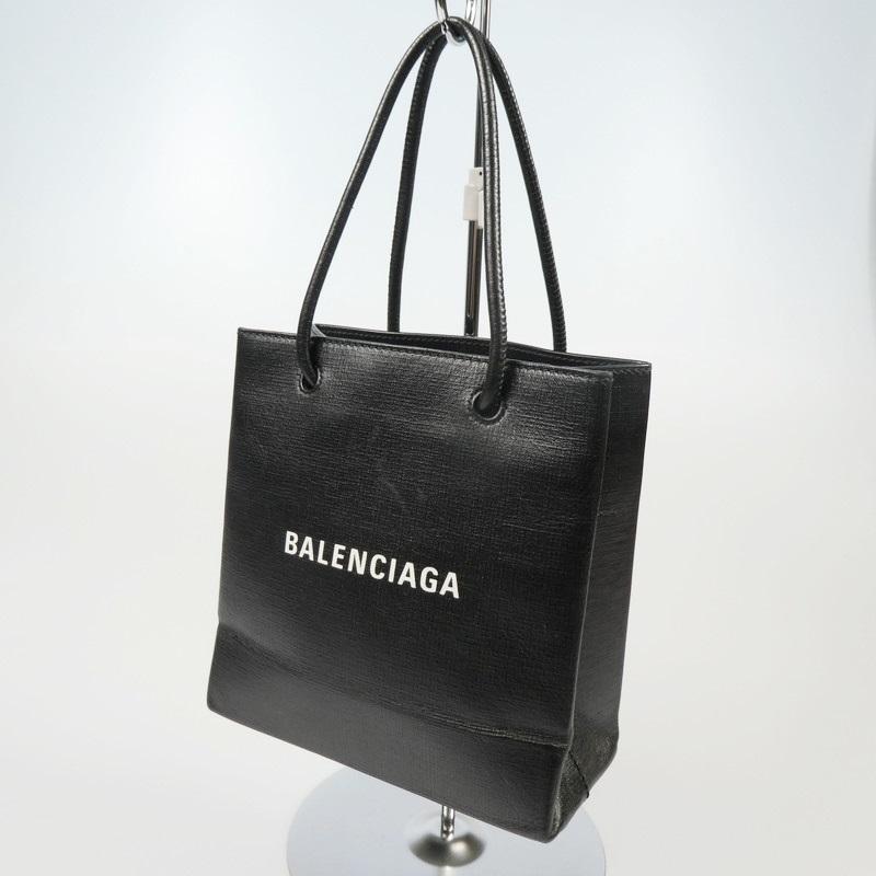 スペシャルオファ 【】BALENCIAGA バレンシアガ ショッピングノースサウスXXS 2wayトートバッグ ブラック【f122】 572411 ブラック【f122】, 邇摩郡:eafe89d7 --- marketplace.socialpolis.io