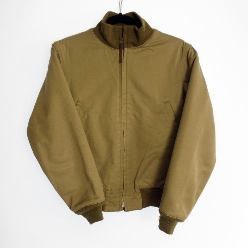 【中古】THE REAL McCOY'S リアルマッコイズ タンカースジャケット サイズ:S / アメカジ【f093】