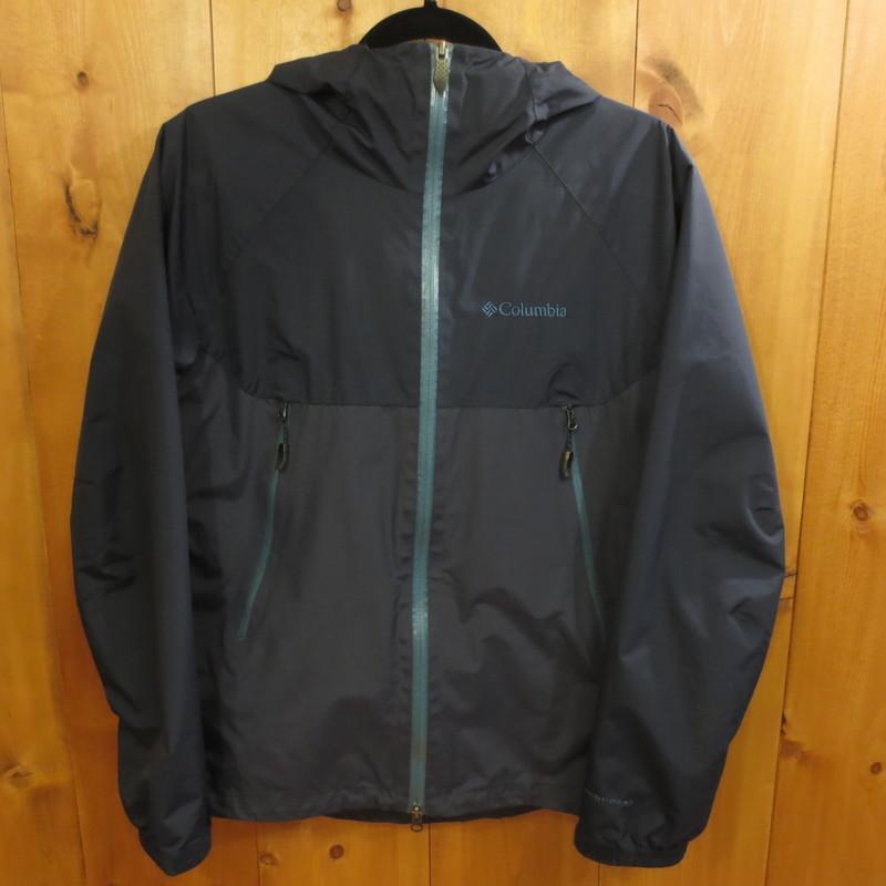 【中古】Columbia/コロンビア デクルーズサミット2ジャケット マウンテンパーカー サイズ:S カラー:ネイビー系 / アウトドア【f092】