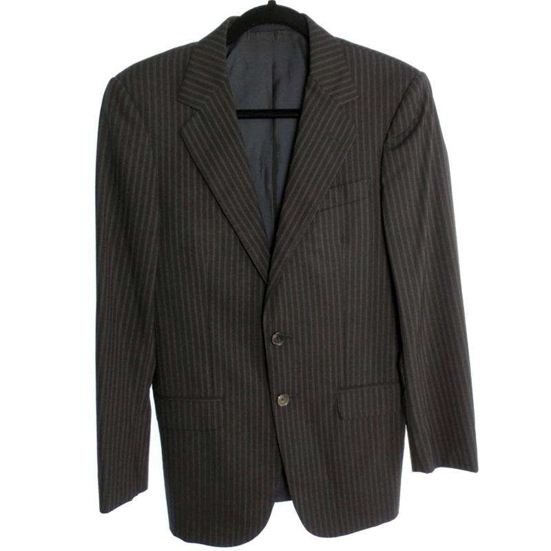 【中古】GUCCI グッチ 2B ジャケット サイズ:44 カラー:ブラック系【f135】