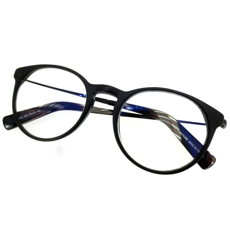 【中古】TOM FORD トムフォード メガネ 眼鏡 サイズ:- カラー:ブラック【f116】