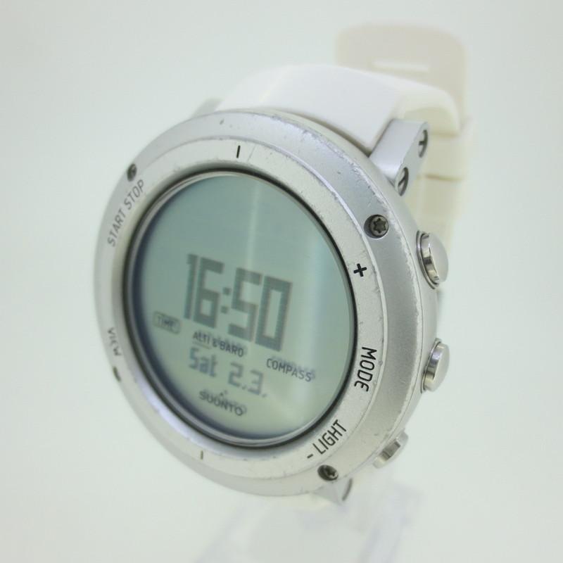 【中古】SUUNTO スント Core Pure Whte コア・ピュアホワイト 腕時計 リストウォッチ サイズ:- カラー:ホワイト【f131】
