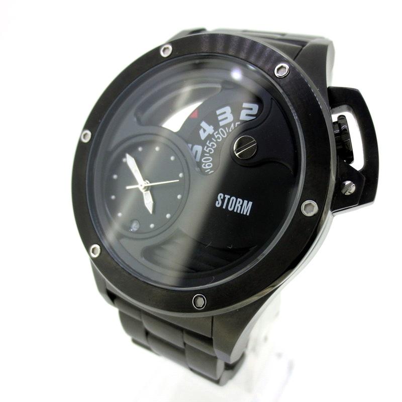 【中古】STORM ストーム 腕時計 リストウォッチ サイズ:- カラー:ブラック【f131】