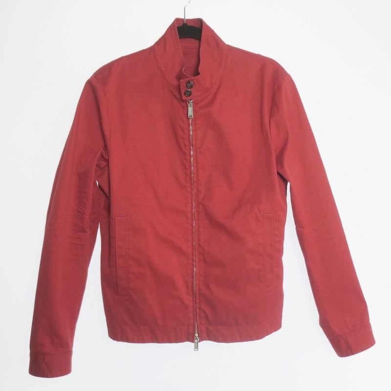 【中古】DSQUARED2 ディースクエアード Pull Zip Basic Jacket スイングトップ サイズ:46 カラー:レッド系 / インポート【f108】
