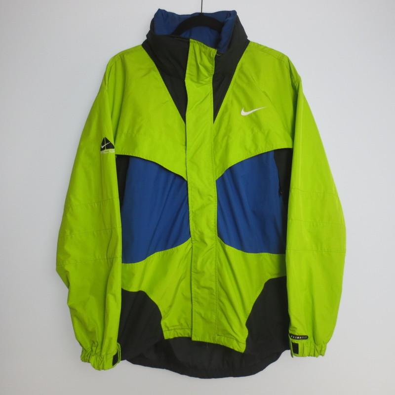 【中古】NIKE ACG ナイキ 90s マウンテンジャケット サイズ:L カラー:イエロー×ブルー×ブラック / アメカジ【f093】