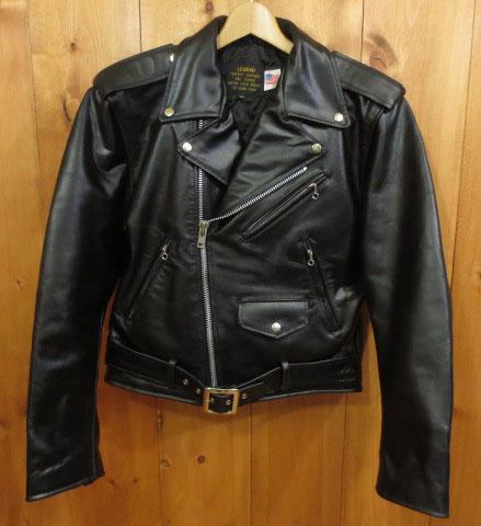 【中古】DOWNTOWN/ダウンタウン ダブルライダースジャケット サイズ:38 カラー:ブラック / アメカジ
