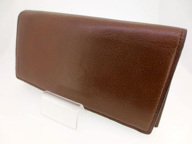 【中古】COACH/コーチ 74315 ブリーカーレザーブレストポケットウォレット 二つ折り 長財布