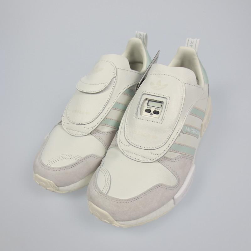 【中古】adidas アディダス MICRO R1 スニーカー G28940 サイズ:26 カラー:ホワイト【f126】