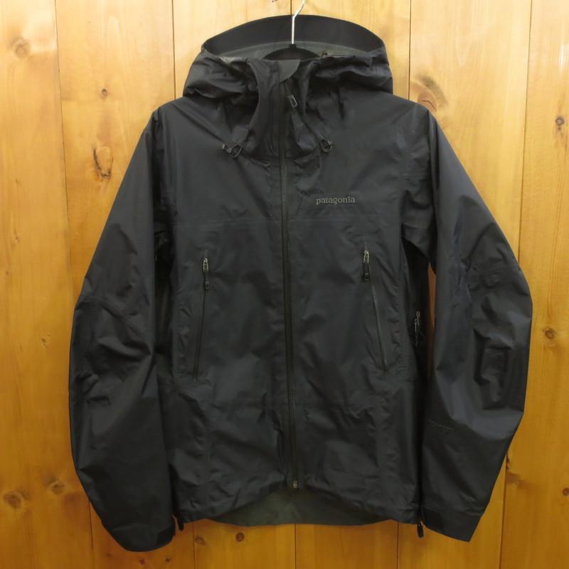 【中古】Patagonia パタゴニア Super Cell Jacket スーパーセルジャケット マウンテンパーカー サイズ:XS カラー:ブラック / アウトドア【f092】