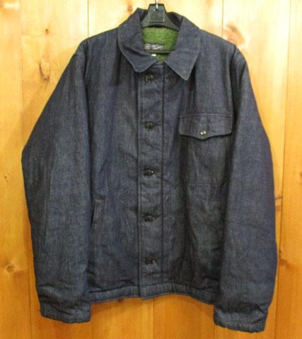 【中古】BUZZ RICKSON'S/バズリクソンズ デニムデッキジャケット サイズ:40 カラー:インディゴ系 / アメカジ