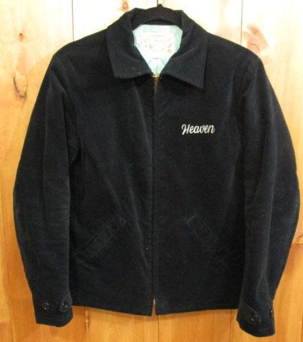 【中古】Radiall/ラディアル ベロアスーベニアジャケット サイズ:36 カラー:ブラック / ルード