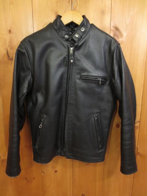 【中古】Schott/ショット ライダースジャケット サイズ:36 カラー:ブラック / アメカジ