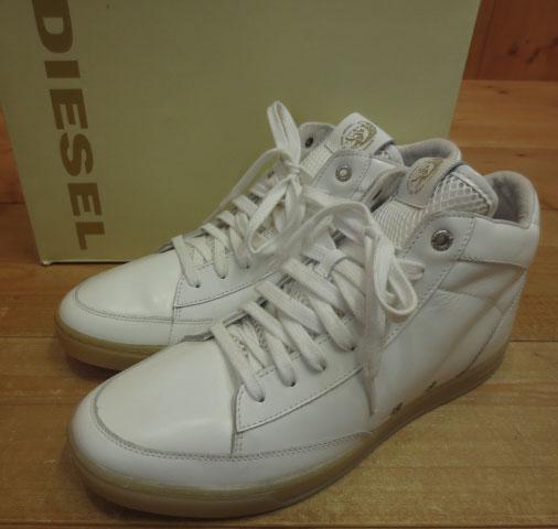 【中古】DIESEL/ディーゼル HI-CULTURE スニーカー Y00740P0549 サイズ:28cm カラー:ホワイト