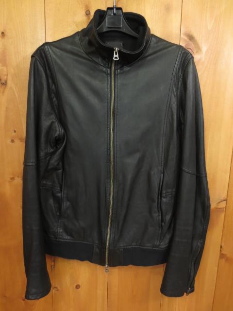 【中古】shama/シャマ レザージャケット サイズ:40 カラー:ブラック / ドメス【f096】