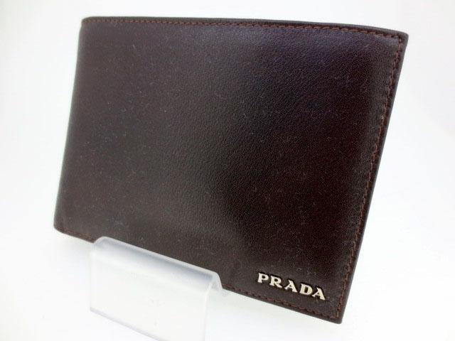 【中古】PRADA/プラダ 2M0002 二つ折り 財布 ウォレット【f125】