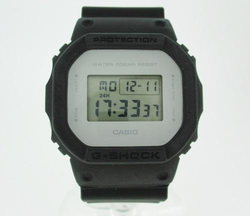 【中古】CASIO カシオ G-SHOCK ジーショック 腕時計 リストウォッチ DW-5600LCU ×ブラック クォーツ 樹脂バンド