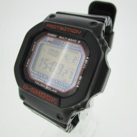 【中古】CASHIO カシオ G-SHOCK Gショック 腕時計 リストウォッチ GW-M5610R ×ブラック ソーラー 樹脂バンド