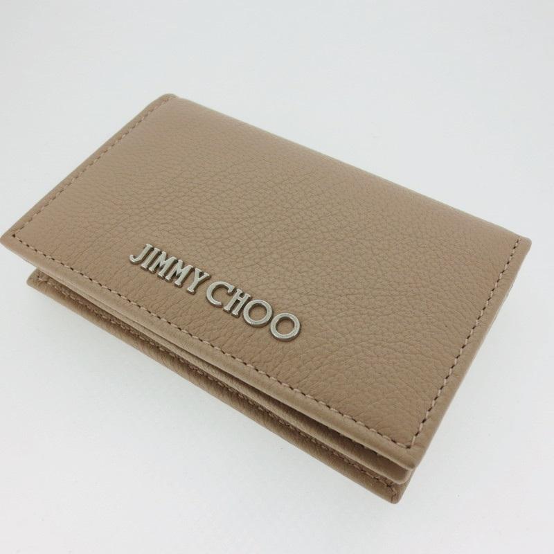 【中古】JIMMY CHOO ジミーチュウ  カードケース NELLO GRZX【f125】