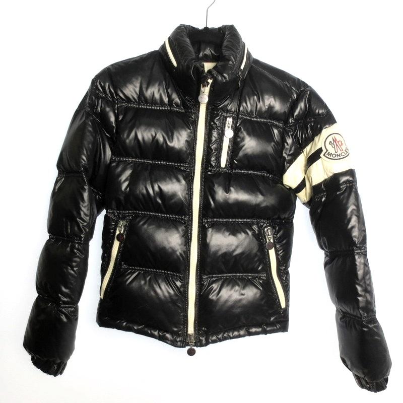 【中古】MONCLER モンクレール ERIC ダウン ジャケット サイズ:0 カラー:ブラック / インポート【f108】