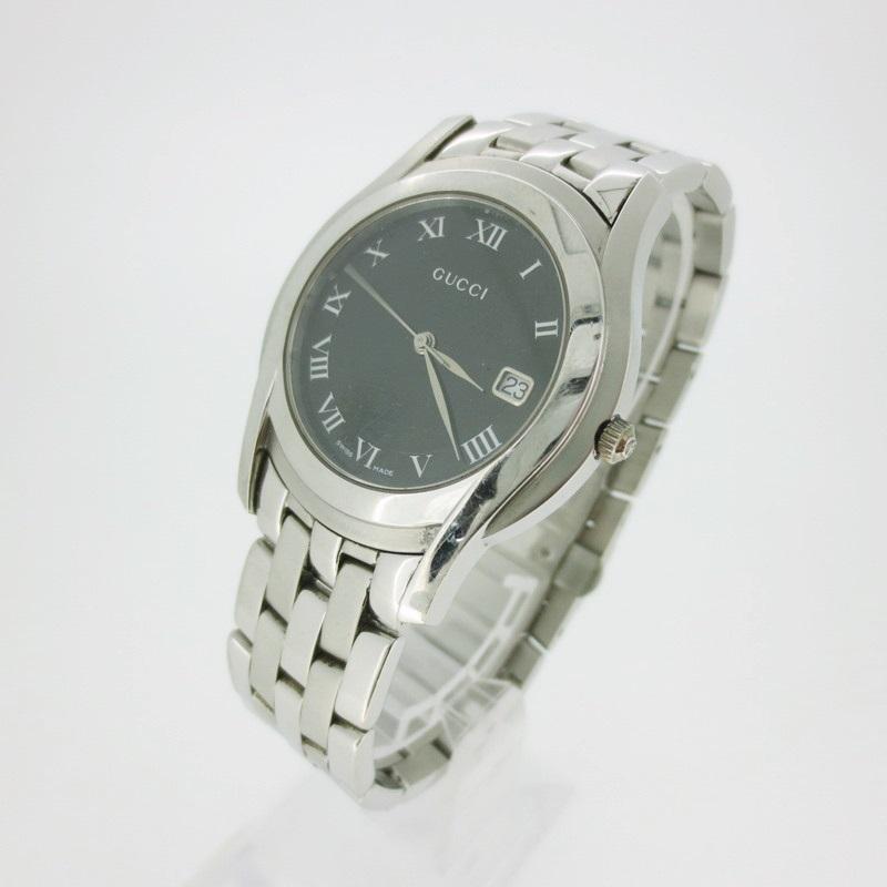 【中古】GUCCI グッチ 5000M クォーツ 腕時計 リストウォッチ 【f131】