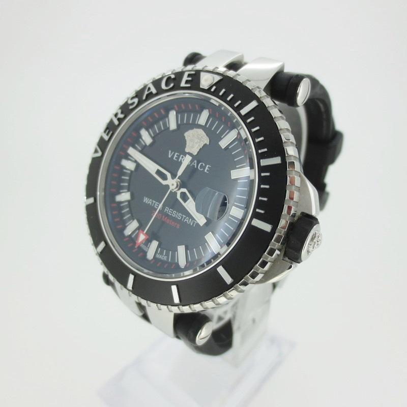 【中古】VERSACE ヴェルサーチ VAK010016 クォーツ 腕時計 【f131】