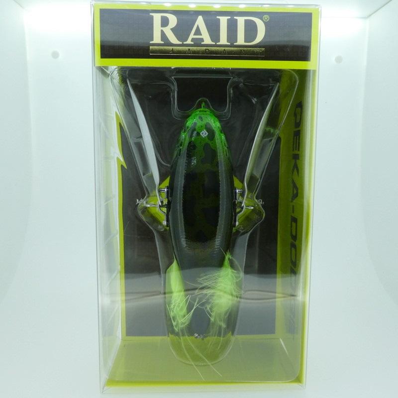 【RAID JAPAN/レイドジャパン】デカダッジ ブルフロッグ【中古/未使用品】【used/ユーズド】【釣り/フィッシング/釣具/ルアー】