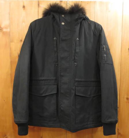 【中古】LOUNGE LIZARD ラウンジリザード ミリタリージャケット サイズ:3 カラー:ブラック / ドメス
