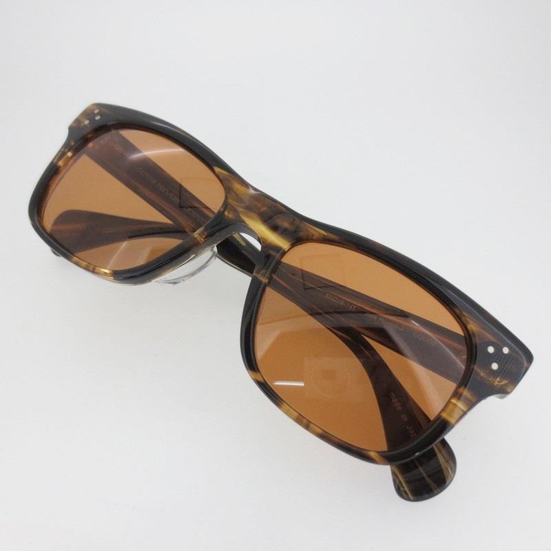 【中古】OLIVER PEOPLES オリバーピープルズ Jack Huston J coco2 サングラス サイズ:52□19-145 カラー:ブラウン系【f116】