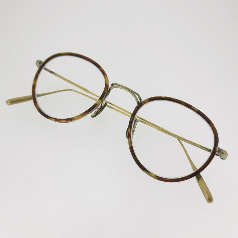 【中古】OLIVER PEOPLES オリバーピープルズ BOLAND メガネ 度入り サイズ:47□23 【f116】