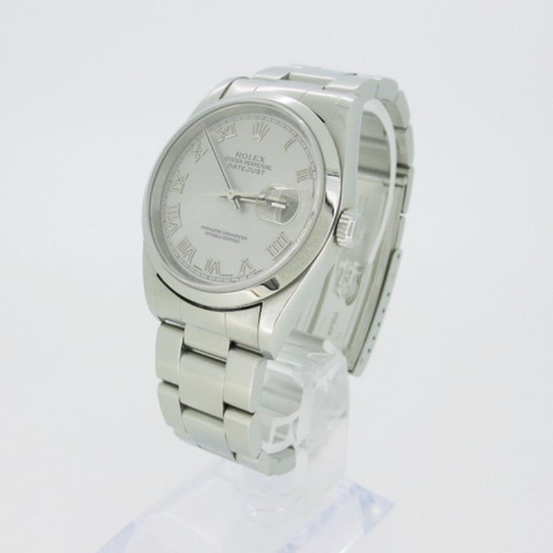 【中古】ROLEX ロレックス DATEJUST デイトジャスト Ref.16200 自動巻き 腕時計  【f132】
