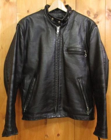 【中古】Schott ショット シングルレザーライダースジャケット サイズ:40 カラー:ブラック / アメカジ