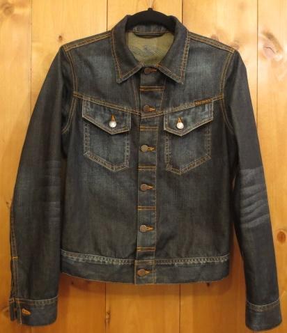 【中古】Nudie Jeans ヌーディージーンズ トラッカージャケット サイズ:XS カラー:インディゴ / インポート
