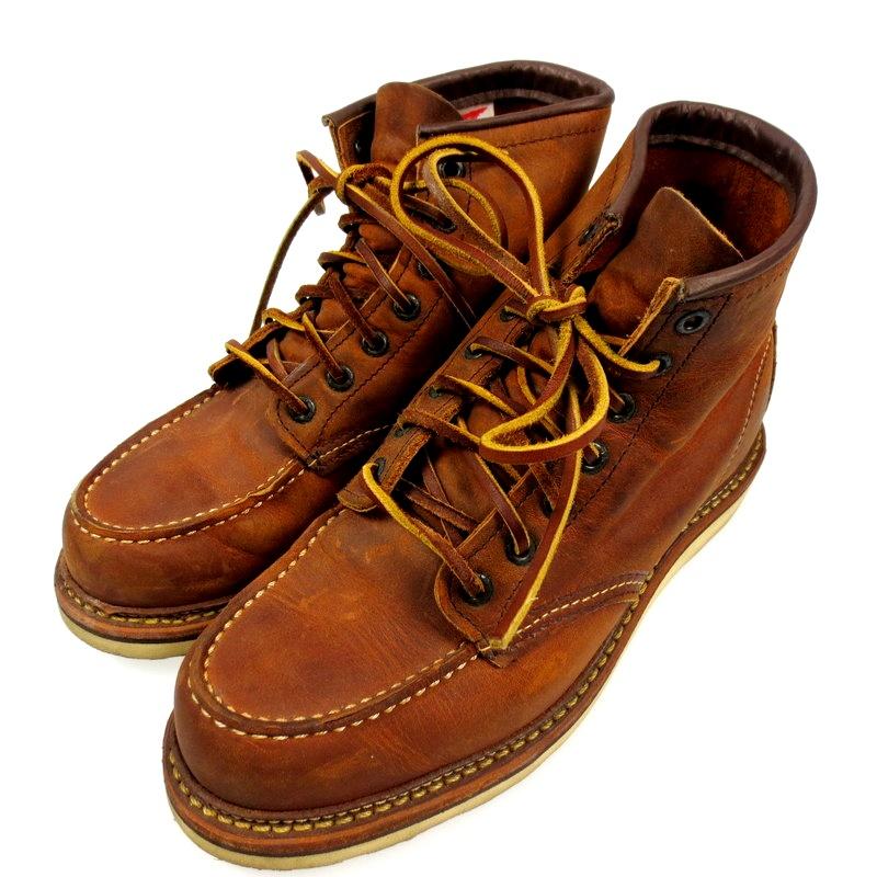 【中古】RED WING レッドウィング アイリッシュセッター ブーツ サイズ:26cm カラー:ブラウン【f127】