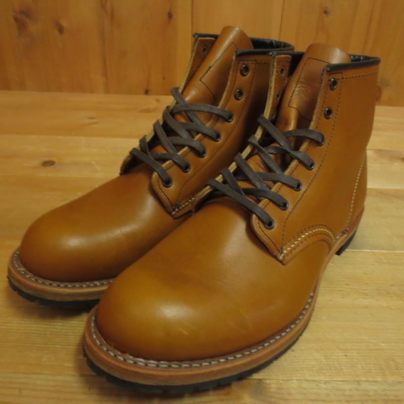 【中古】RED WING レッドウィング ベックマン ブーツ サイズ:27.5 カラー:ブラウン系【f127】