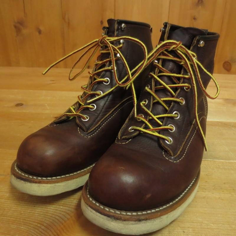 【中古】RED WING レッドウィング ブーツ サイズ:UK7 カラー:ブラウン系【f127】