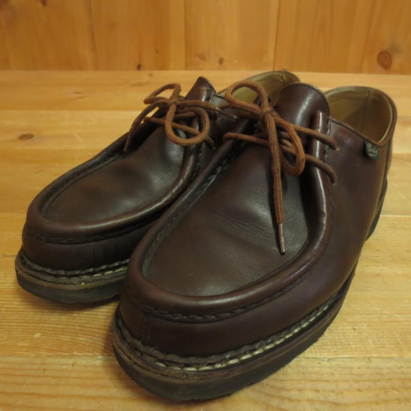 【中古】Paraboots パラブーツ ミカエル 革靴 サイズ:40 カラー:ブラウン系【f127】