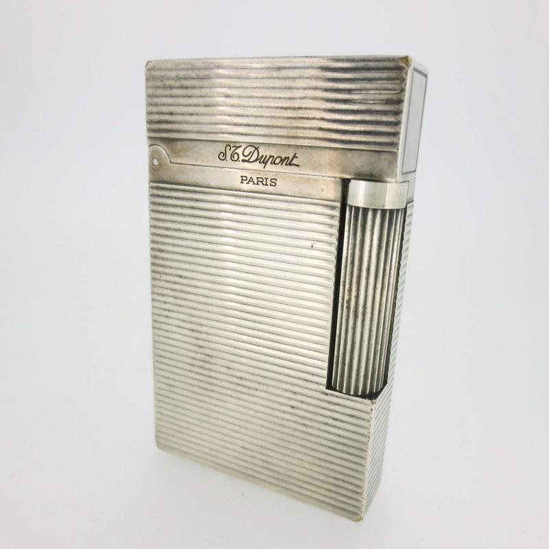 【中古】S.T.Dupont エス・テー・デュポン デュポン ガスライター 喫煙具 ライター【f135】