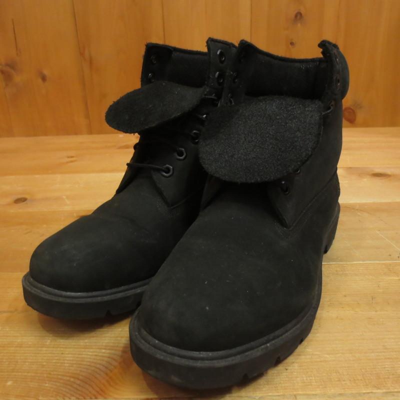 【中古】Timberland ティンバーランド ブーツ サイズ:27 カラー:ブラック【f127】