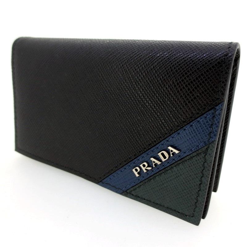 【中古】PRADA プラダ コインケース サイズ:- カラー:ブラック【f125】