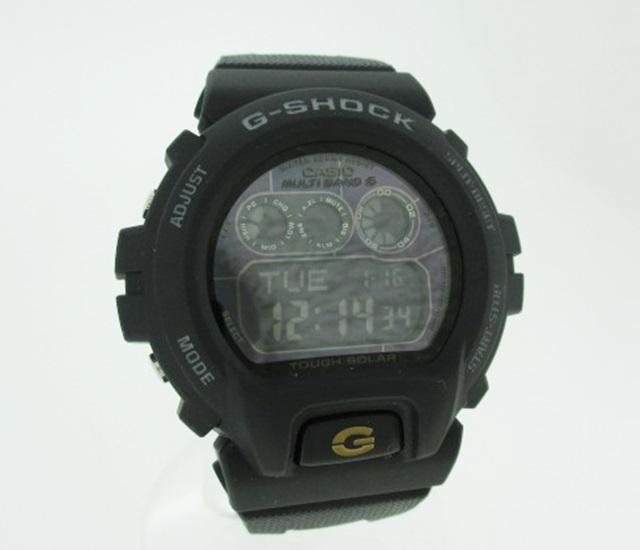 【中古】CASHIO カシオ G-SHOCK ジーショック リストウォッチ 腕時計 GW-6900BC ブラック系×ブラック系 ソーラー その他ベルト