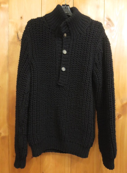 【中古】DOLCE&GABBANA ドルチェ&ガッバーナ ドルガバ ニット セーター サイズ:46 カラー:ブラック / インポート
