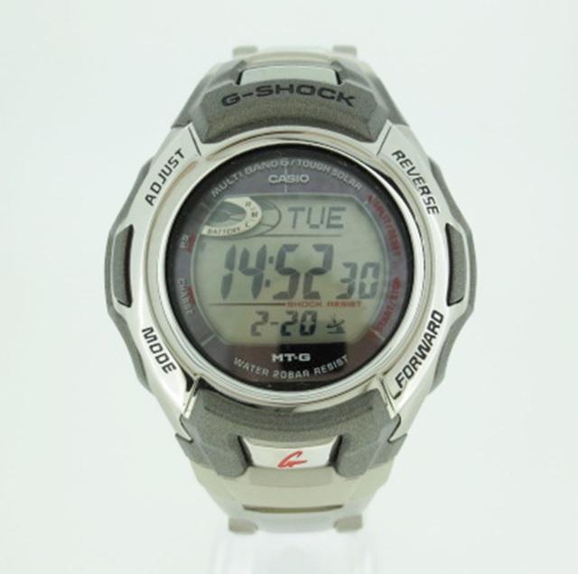 【中古】CASHIO カシオ G-SHOCK Gショック 腕時計 リストウォッチ MTG-M900DA ×シルバー系 ソーラー その他ベルト
