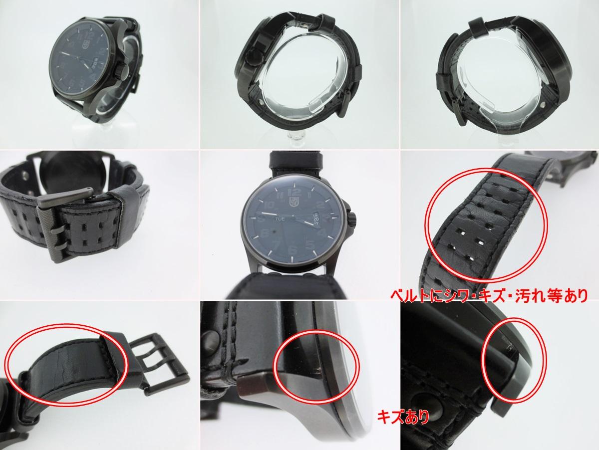 cheap for discount 941b2 6312b 革(レザー)ベルト クォーツ ブラック×ブラック 1879 リスト ...
