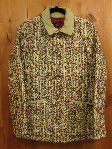 【中古】TUMORI CHISATO LAVENHAM ツモリチサト ラベンハム キルティングジャケット 総柄 サイズ:38 カラー: