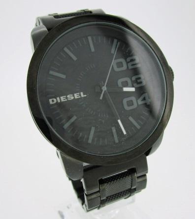 【中古】DIESEL ディーゼル 腕時計 リストウォッチ オールブラック DZ1371 ブラック×ブラック クォーツ ステンレススティールベルト