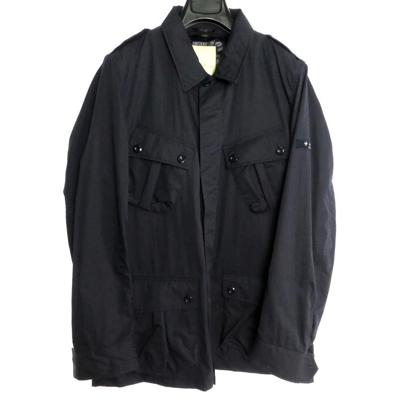 【中古】TATRAS タトラス CONSOLINO サファリジャケット サイズ:5 カラー:ネイビー【f108】