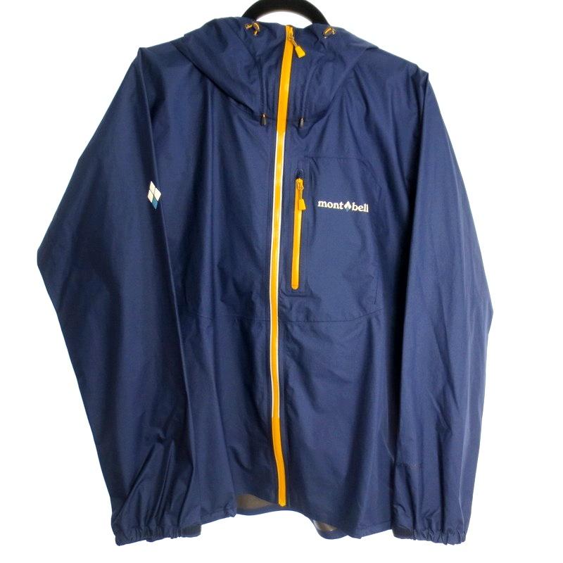 【中古】mont-bell モンベル トレントフライヤージャケット ナイロンジャケット サイズ:L カラー:ネイビー / アウトドア【f092】