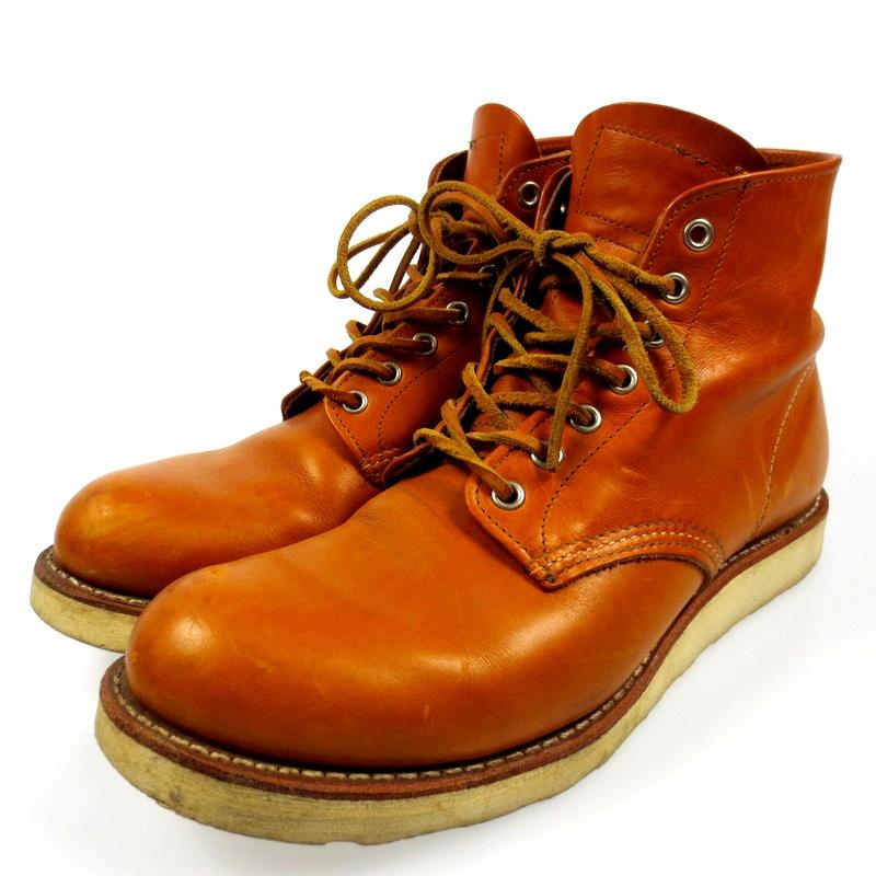 【中古】RED WING レッドウィング 6inch CLASSIC ROUND TOE 9871 ブーツ サイズ:27.5cm カラー:ブラウン【f127】